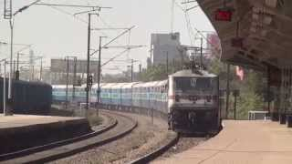 Driver In Hurry Home Hurry ! Superb Honking & Aggression at Bhilai Power House Railway Station