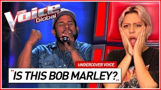 """He almost sounds like BOB MARLEY"" 
