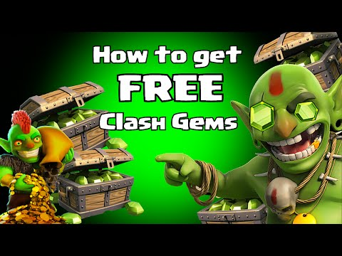 (Feature points) How to get free Clash of Clans Gems