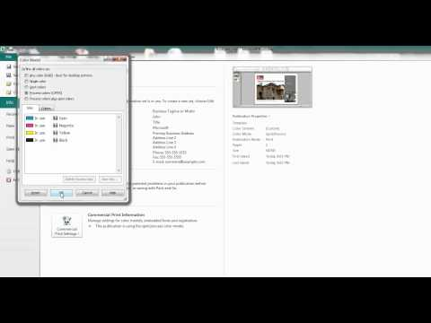 Print Ready 101 - Saving Publisher 2010 Files
