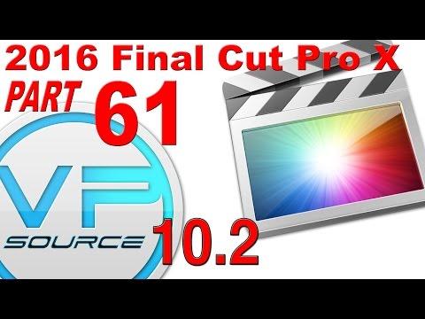 61. SNAPPING Final Cut Pro X 10.2.3 (2016)