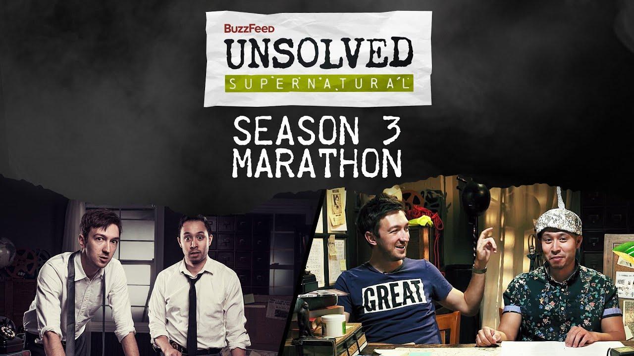 Unsolved Supernatural Season 3 Marathon
