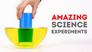 15 Amazing Science Experiments