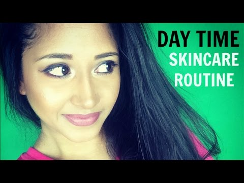 MY CURRENT DAYTIME SKIN CARE ROUTINE - VERY EASY, NO FUSS