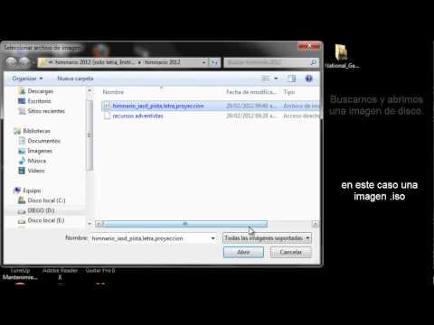 Montar Imagen de disco Virtualmente (NRG, ISO, BIN, IMG, MDF) Daemon Tools