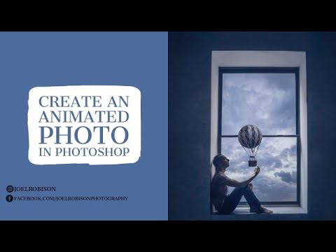 How To Create An Animated Photo In Photoshop