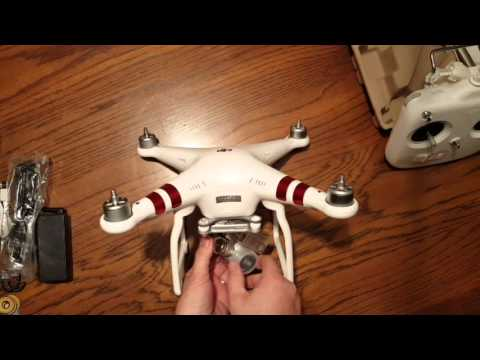 DJI Phantom 3 Standard Quadcopter Unboxing and Assembly