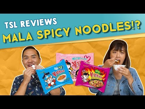 TSL Reviews: KOREAN SPICY NOODLES