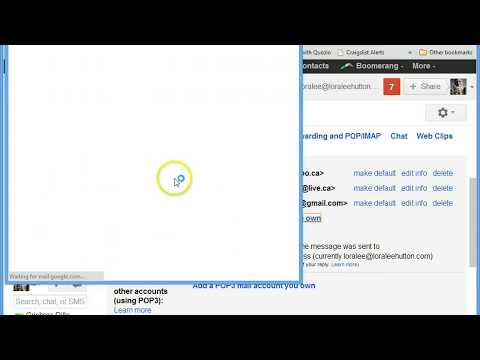 set up new email with hostgator and gmail