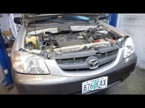 2004 Mazda Tribute / Ford Escape Transmission trouble ( Code P0708 )