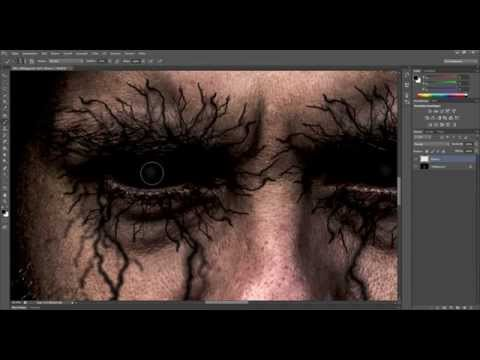 Dämon / Demon Sary look in Photoshop Tutorial