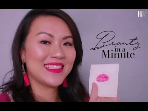 Beauty in a minute: How to make your lipstick kiss-proof