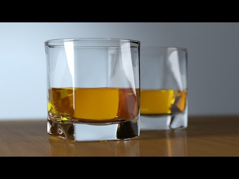 3ds max tutorial - Modelado vaso de Whisky (English Subtitles)