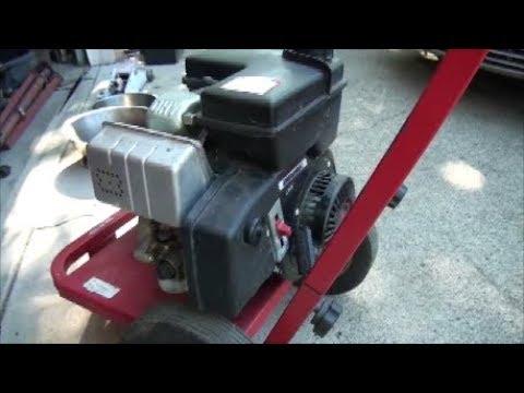 TECUMSEH ENDURO OHV 5 Horsepower Engine Won't START or RUNS then DIES~ on a PRESSURE WASHER