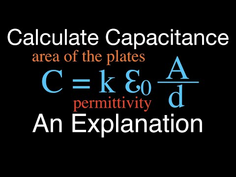 Calculating the Capacitance of a Capacitor: An Explanation
