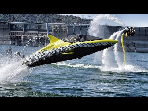 Xxx Mp4 Robotic Dolphin And Flying Water Car In 4K With Jetovator And Seabreacher 3gp Sex
