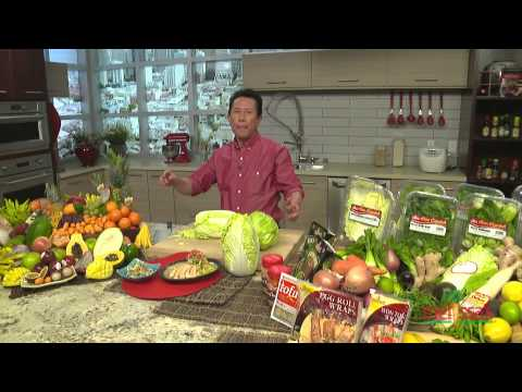 Napa Cabbage V. Green Cabbage: What's the Difference? with Chef Martin Yan