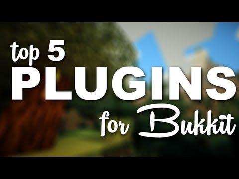 Minecraft Bukkit Plugins - Top 5 Admin Plugins for BUKKIT!