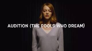 The Fools Who Dream (audition) -la La Land (lyrics)