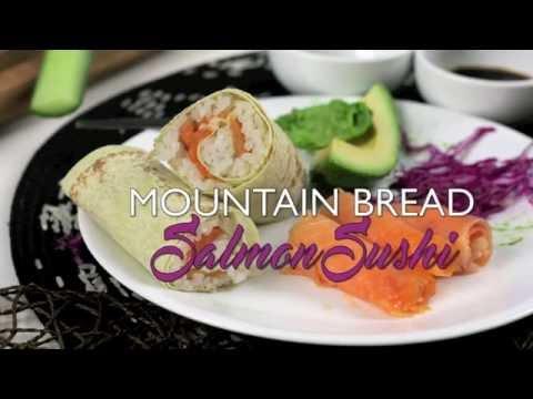 Mountain Bread™ - Salmon Sushi