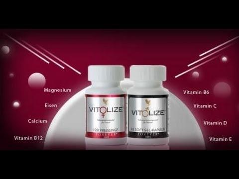 Vit♂lize for Men   Vit♀lize for Women
