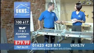 Wolf 11 In 1 Aluminium Folding Ladder From Ukhs.tv