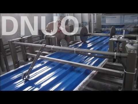 Fiberglass reinforce plastic sheet making machine