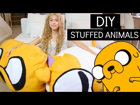 DIY  STUFFED ANIMAL - ADVENTURE TIME | sew&tell