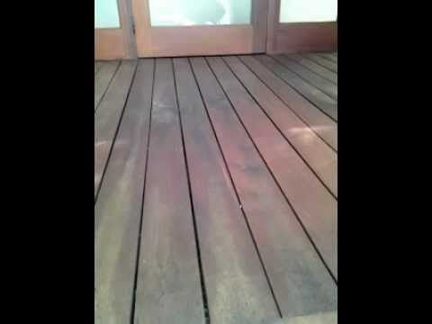 Refinishing Ipe' decks Part 1