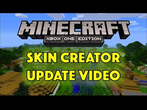 Minecraft XBOX ONE/PS4 Skin Creator UPDATE!