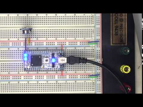 MBED Project - MAX4466 Amp and Electret Microphone