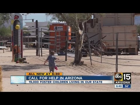 Severe need for foster homes in Arizona
