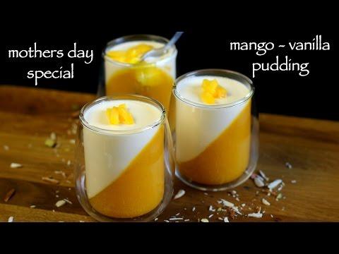 mango pudding recipe   mango pudding dessert   how to make mango panna cotta