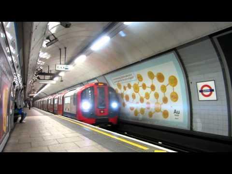 First Underground in London Euston on a Monday Morning