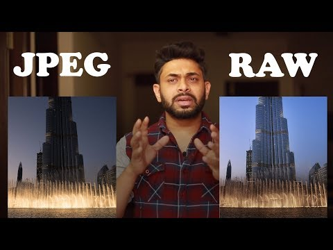RAW VS JPEG | WHICH IS BETTER | WHICH SHOULD YOU USE ?