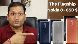 Nokia 8 First Look | Flagship from Nokia