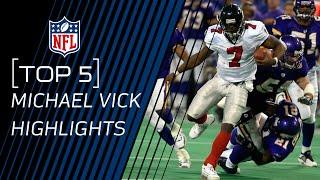 Top 5 Michael Vick Plays Nfl