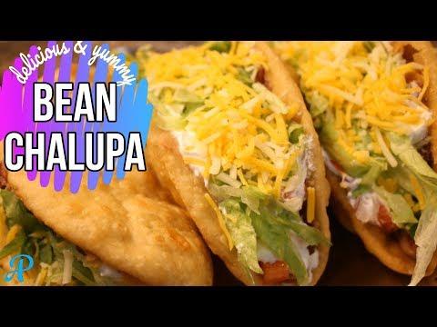 Bean Chalupa | How to make Taco Bell Bean Chalupa | Mexican Chalupa