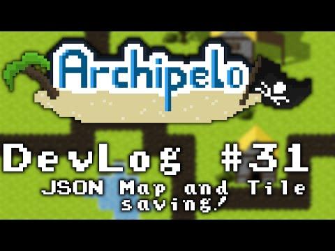 Archipelo DevLog #31: Map loading and JSON explained (2D Java LibGDX MMORPG)
