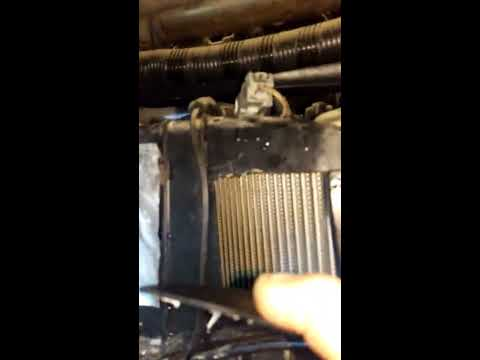 Cleaning evaporator on a 2013 F150