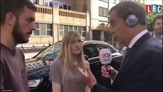Nigel Farage Talks to Charlie Gard