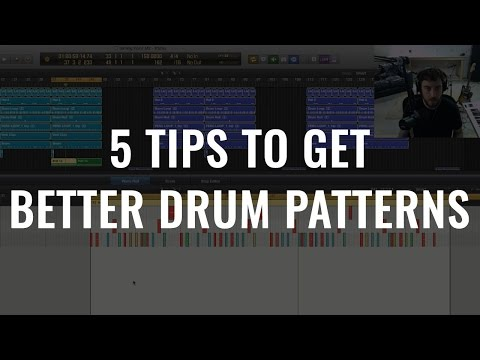 5 Tips To Get Better Drum Patterns