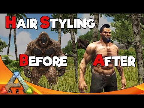HAIR STYLING | ARK Survival Evolved
