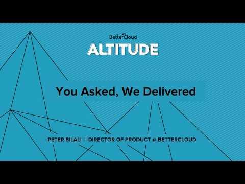 Altitude 2018: You Asked, We Delivered