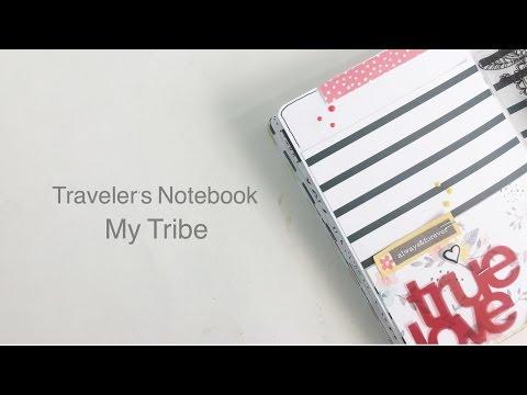 Traveler's Notebook Layout | My Tribe