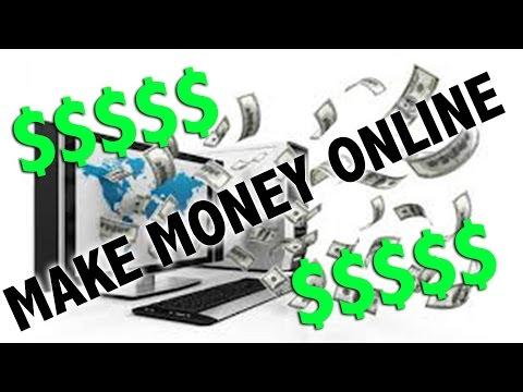 5 WAYS TO MAKE MONEY ONLINE!
