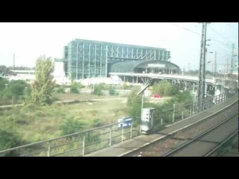 Berlin Schonefeld Airport Train to Main Rail Station Hbf