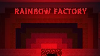 MINECRAFT RAINBOW FACTORY - Rainbow Factory by WoodenToaster - Minecraft Music Video