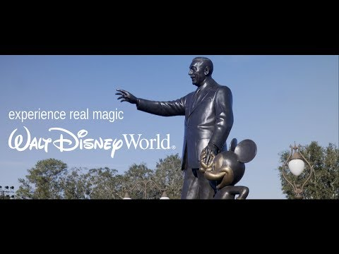 experience real magic | Walt's Dream for Disney World.
