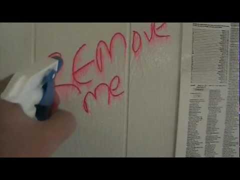 Tagaway Graffiti Remover - Removes Graffiti From Painted Wall